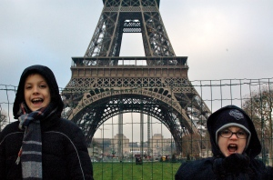 Boys in Paris